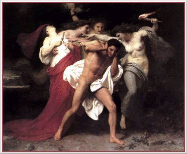 Erinnyes Tormenting Orestes