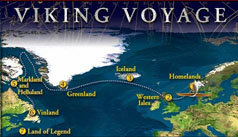 Link to Viking Voyage - Map of Viking Voage