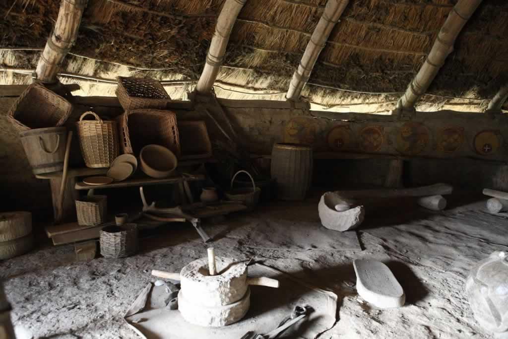 Celtic Round Houses - Iron Age Celts