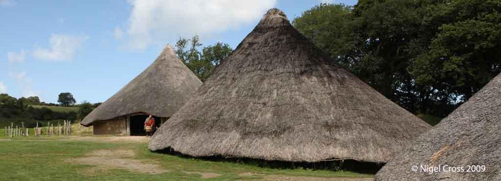 Celtic Round Houses Iron Age Celts
